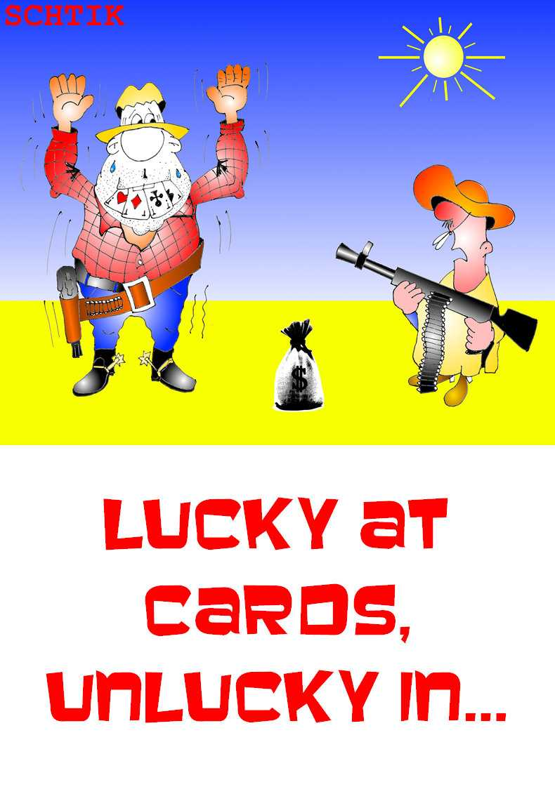lucky at cards