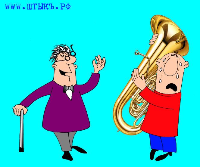 Короткие анекдоты, веселые шутки, смешные картинки о музыке