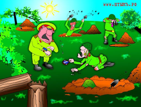 Самые смешные анекдоты про армию: Идиоты на боевых стрельбах