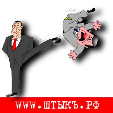 Смешная история в картинках про президента Украины