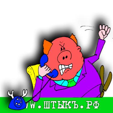 Сатира в карикатурах на чиновника