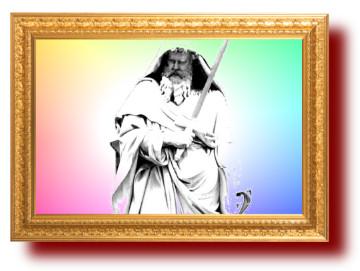 Афоризм в картинке про Апостола Павла