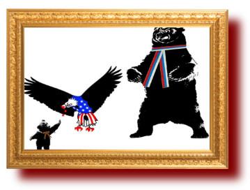 Политические анекдоты в карикатурах. Новороссия