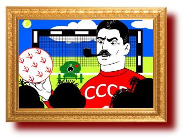 анекдоты с картинками про Сталина