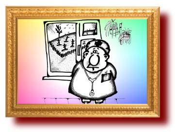 карикатура на врачей грустная