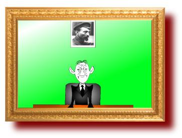 Сатирические карикатуры на коррупцию