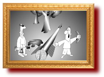 Немецкие поговорки в картинках про стрелу