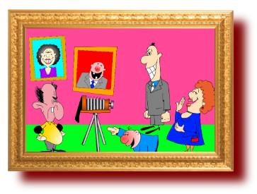 анекдоты с рисунками про смех