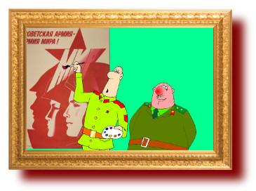 анекдоты в наших смешных картинках про армию