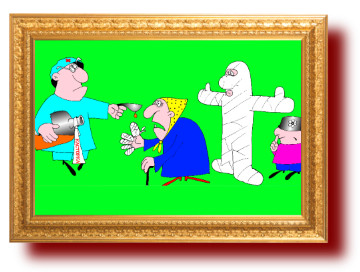карикатуры про врачей