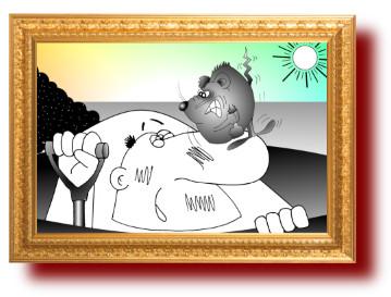 поговорки в карикатурах о труде