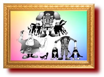 рисунки про полицию