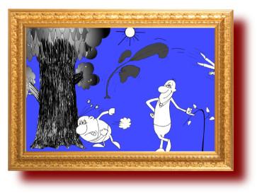 поговорки с веселыми рисунками про воспитание