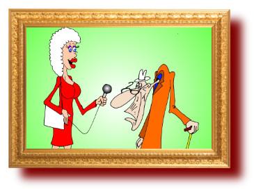 прикольные анекдоты с веселыми рисунками про возраст