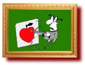 Самые веселые испанские пословицы в смешных картинках: Косой арбалетчик