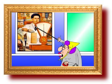 лучшие анекдоты с рисунками: Бабушка