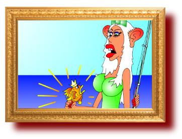 Блондинки. Карикатуры