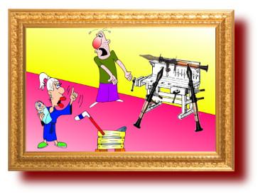 анекдоты с веселыми рисунками: Как сделать коляску