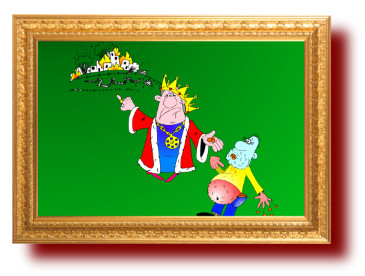 пословицы с веселыми карикатурами про царя
