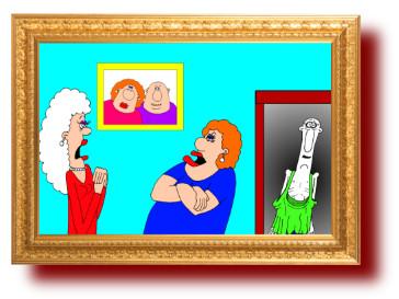прикольные анекдоты с карикатурами: Купить жене шубу