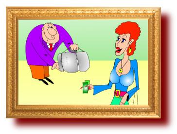 Остроумные анекдоты с прикольными картинками, юмор: Служба доставки