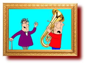 веселые шутки, смешные картинки о музыке