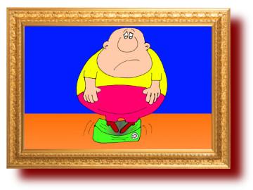 шутки в картинках про толстых