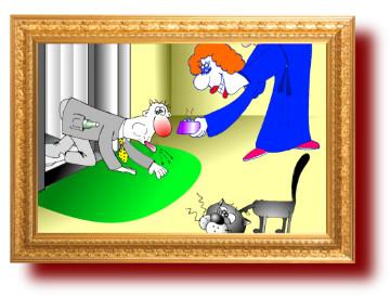 картинки про кошек и мужа