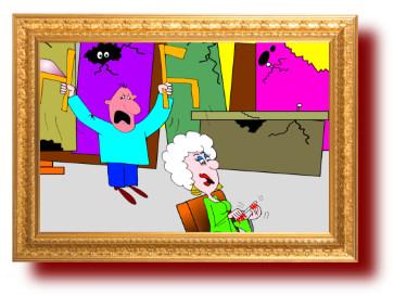 остроумные анекдоты с картинками: проверка товара
