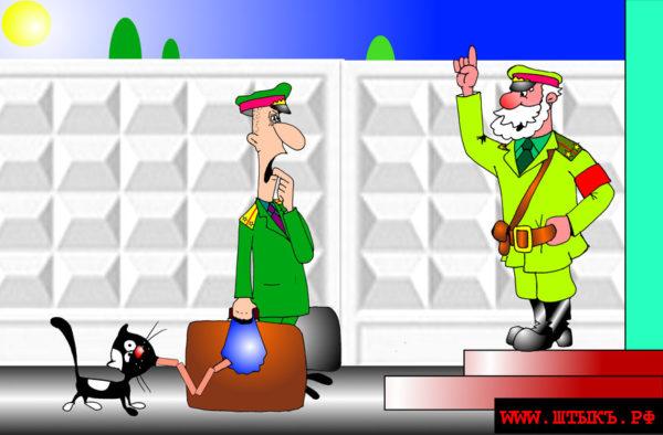 Лучший юмор, самые веселые анекдоты с рисунками: Дикорастущий лейтенант