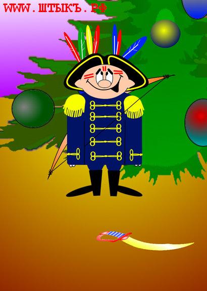 Мальчик в адмиральской форме