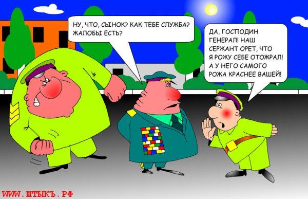 Самые смешные анекдоты в карикатурах