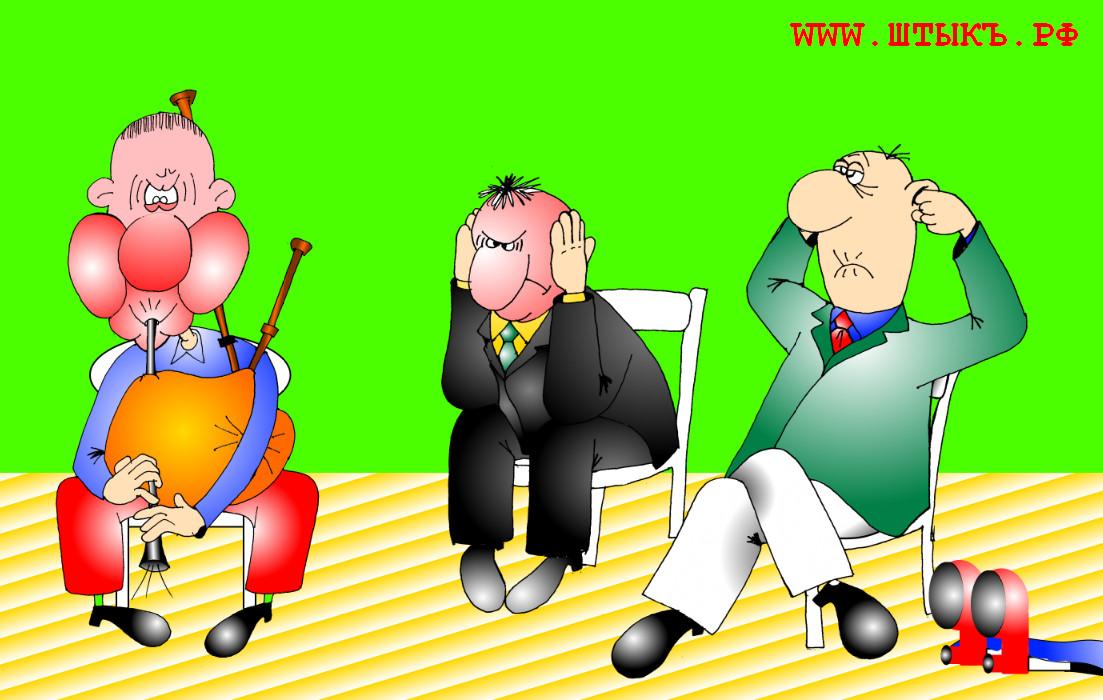 Смешная карикатура про здоровье