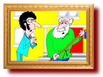 Анекдоты лучшие с веселыми рисунками: Пушкин и Толстой в наши дни