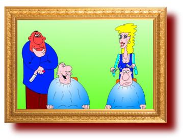 Анекдоты в смешных картинках про мужа и жену