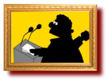 сатира на политических деятелей