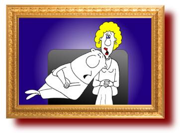 Анекдоты смешные до слез про мужа и жену