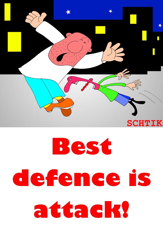 лучшая защита - нападение