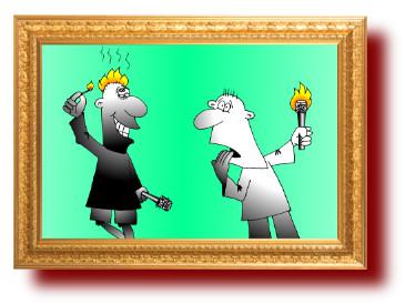 остроумные пословицы и поговорки со смешными рисунками про глупцов