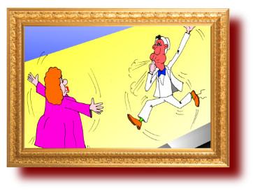 веселые рисунки про свадьбы