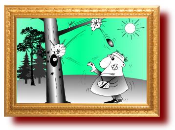 цитаты с веселыми карикатурами про дураков