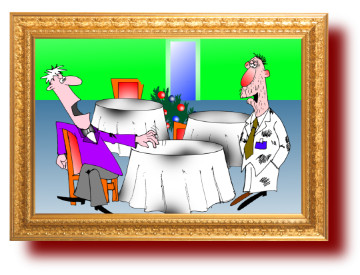 приколы с картинками: Ресторан и пальто