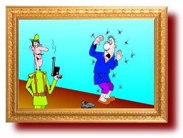 уморительные анекдоты, карикатуры: Призыв в царской армии