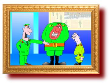 прикольные анекдоты с рисунками про военных