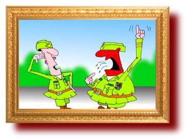 веселые анекдоты про иностранные армии