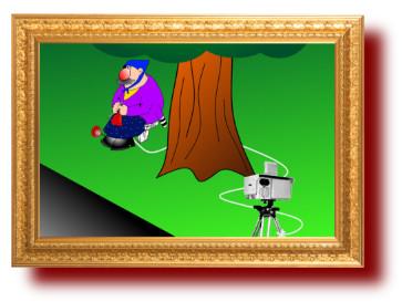 Веселые карикатуры про полицию: как прячут камеры