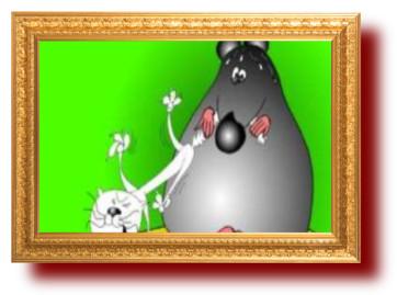 Головоломки и ребусы в картинках: Мышь