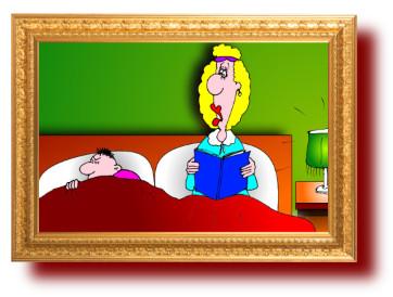 Прикольный анекдот-картинка про жену и зло