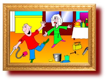 Самые новые анекдоты с картинками про семью
