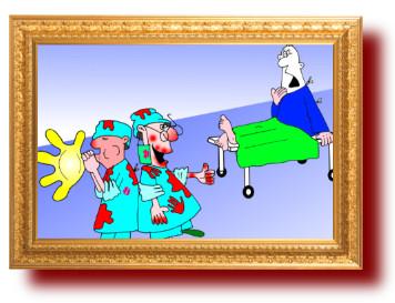 анекдот с картинками про ржачных врачей